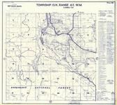 Township 15 N., Range 4 E., Snoqualmie National Forest, Alder, Lewis County 1960c